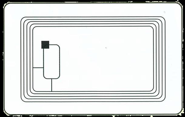 ICカードの構造