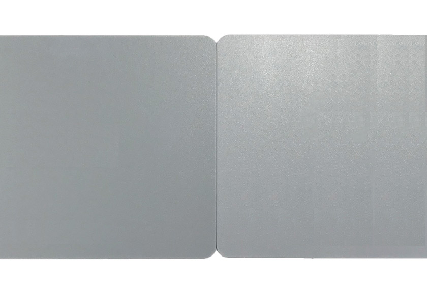 UVインクジェット印刷の色差イメージ